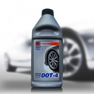 Тормозная жидкость Промпэк Дот4, 910г