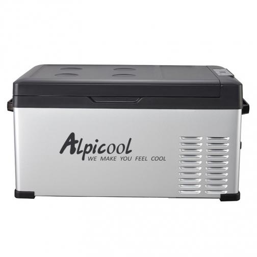 Kомпрессорный автохолодильник ALPICOOL C25 черный (30л, 12/24/220В) 36995006 3