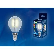 Uniel LED-G45-6W/WW/E14/FR PLS02WH картон