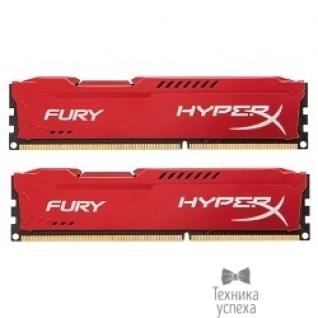 Kingston Kingston DDR3 DIMM 8GB (PC3-15000) 1866MHz Kit (2 x 4GB) HX318C10FRK2/8 HyperX Fury Red Series CL10