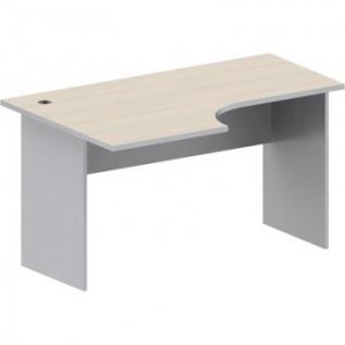 Мебель Easy St Стол лев (008,234)св.дуб/сер.(430/030)Ш1400