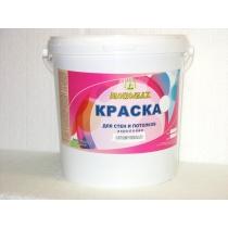 Краска Мономах для стен и потолков (для сухих помещений) 40 кг Standart
