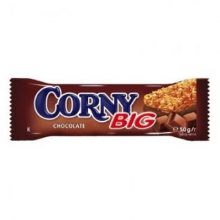 Батончик Corny Big злаковый, с мол.шоколадом 50г