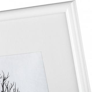 Рамка с паспарту, пластик, 30х40, белый цвет 500П
