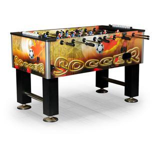 Dynamic Billard Игровой стол футбол Dynamic Billard Roma II (140x76x87 см, цветной)