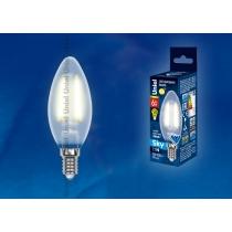 Uniel LED-C35-6W/WW/E14/FR PLS02WH картон