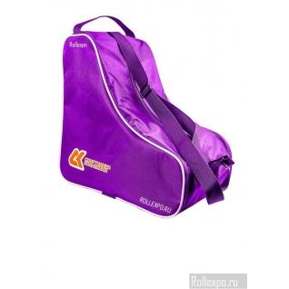 Сумка-чехол (фиолетовый) для переноски коньков и роликов
