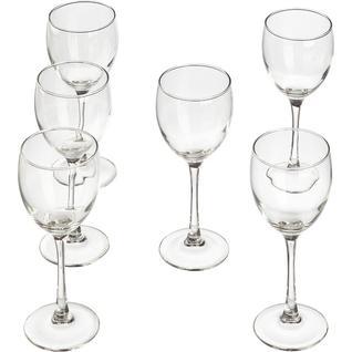 Набор бокалов (красное вино) 250мл СИГНАТЮР (ЭТАЛОН) 6шт/уп (H8168)