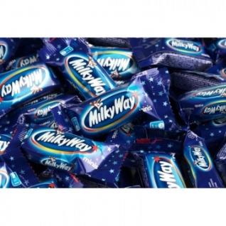 Шоколадный батончик Milky Way миниc, 1кг