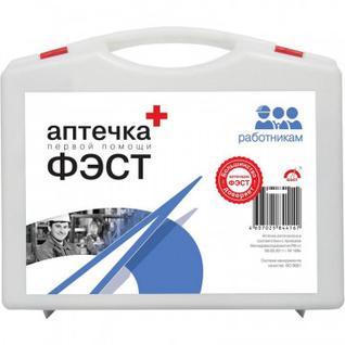 Аптечка первой помощи работникам ФЭСТ (приказ №169н) (малый футляр)