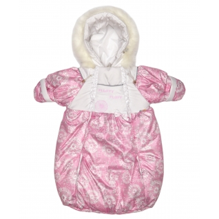 Конверт для новорожденного с ручками, Розовый