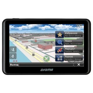 "GPS-автонавигатор Digma Alldrive 505 black 5"""