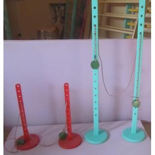 Стойки для прыжков детские со шнуром (130 см)