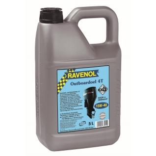 Моторное масло Ravenol Outboardoel 4T 15W40 5л