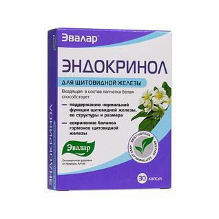Эвалар Эндокринол 0,275 гр №30