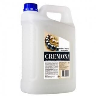 Мыло жидкое Крем-мыло КРЕМОНА 5л жемчужное