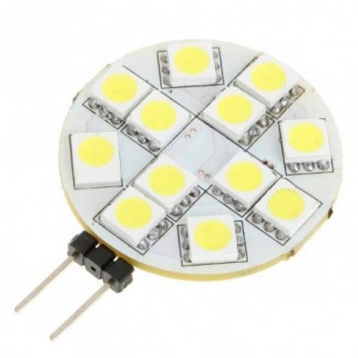 Светодиодная лампочка G4 -12*5050ES, 175lm, 12V 2W лампа светодиодная 631