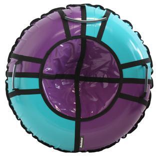 Тюбинг Hubster Sport Pro фиолетовый-бирюзовый (105см)