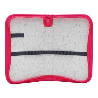 Пенал №1School Клетка розовая односекц., ткань,190x115 см
