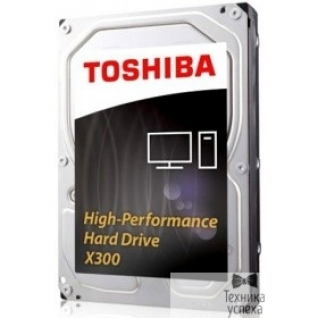 "Toshiba 4TB Toshiba X300 (HDWE140EZSTA) RETAIL SATA 6.0Gb/s, 7200 rpm, 128Mb buffer, 3.5"""