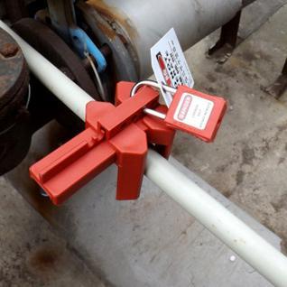 Блокиратор Гаслок универсальный шарового клапана (GL-8210)