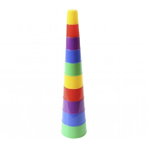 Занимательная пирамидка №2 (10 элементов) Полесье 37880141