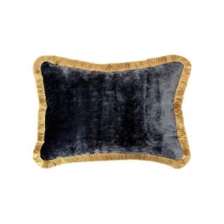 Подушка декоративная с бахромой 300х450 Бентли плейн 26
