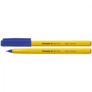 Ручка шариковая SCHNEIDER Tops 505 F однораз. синий ст. 0,3мм Германия