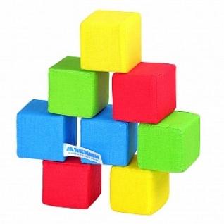 """Набор Из 8 Кубиков """"Мякиши"""" """"4 Цвета"""""""