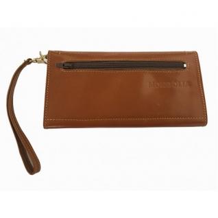 Кожаная мужская сумка барсетка