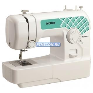 BROTHER Moder N14 Швейная машина (14 операций, ротационный горизонтальный челнок, швейных операций - 14, петля-полуавтомат)