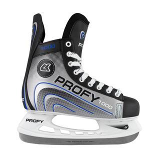 Хоккейные коньки СК (Спортивная Коллекция) (спортивная коллекция) Profy 1000, синий размер 37