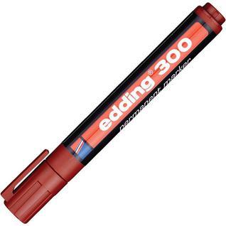 Маркер перманентный EDDING E-300/7 корич.1,5-3мм круглый наконечник