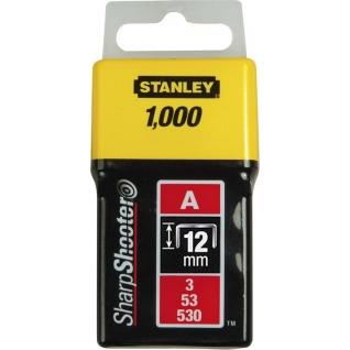 Скоба для степлера Stanley 1-TRA208T, 1000 шт