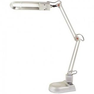 Светильник Camelion KD-017A 2G7(база+струбцина) серебро