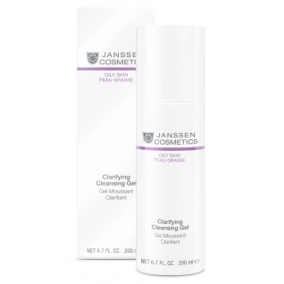 Janssen Clarifying cleansing gel - Очищающий гель