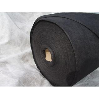 Материал укрывной Агроспан Мульча 60 черный рулонный, ширина 1.6м, намотка