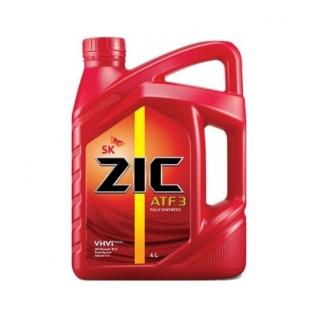 Трансмиссионное масло ZIC ATF 3 4л