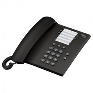 Телефон Gigaset DA100 black,redial,память 14 ном.,регул.гром.звонка