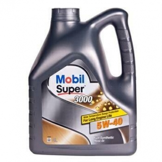 Масло Mobil Super 3000 X1  5W40 (4л.) синт.