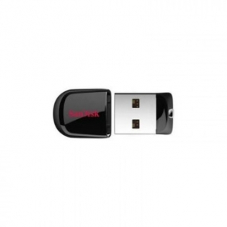 Флеш-память SanDisk Cruzer Fit, 16Gb, USB 2.0, черный, SDCZ33-016G-G35