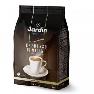 Кофе Jardin Espresso Stile di Milano в зернах,500г