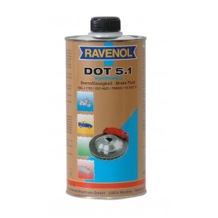 Тормозная жидкость Ravenol DOT-5.1 1л