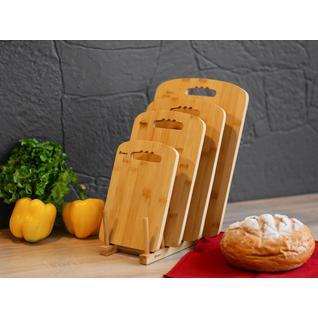 Сушилка-подставка для разделочных досок ПМ: BRAVO Подставка для досок, 22*12*8,6см,бамбук BRAVO