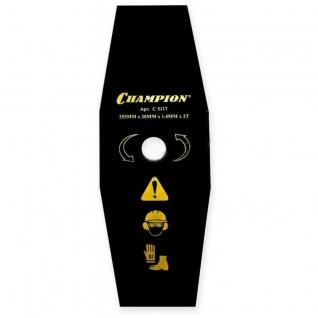 Нож для жесткой травы CHAMPION 2/255/20 C5117