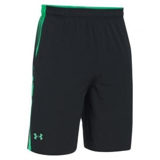 Under Armour Шорты Under Armour Fitness Supervent, цвет черно-зеленый
