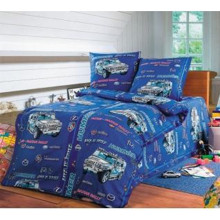Комплект детского постельного белья 1,5-спальный Хаммер, бязь