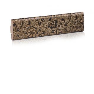Декоративный кожаный молдинг ЭЛЕГАНТ East 32 мм (золото, бронза, серебро)