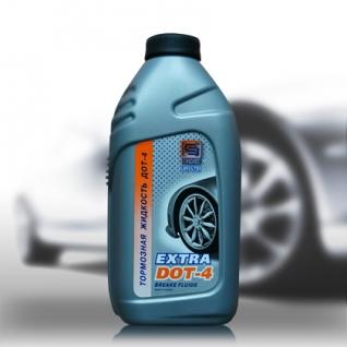 Тормозная жидкость Промпэк Дот4 EXTRA, 455г