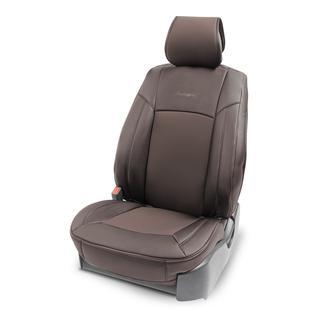 Накидка на сиденье каркасная AUTOPROFI экокожа HIT-310G BR